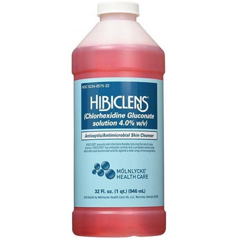 Hibiclens Antiseptic/Antimicrobial Surgical Scrub Skin Cleanser, 32 oz Bottle