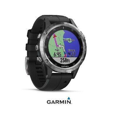 Reloj deportivo Fénix 5S Plus con GPS y pulsómetro GARMIN (plata con...