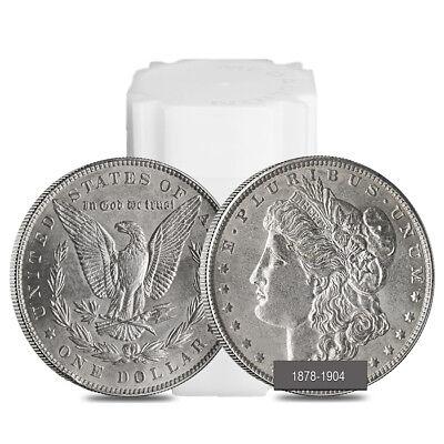Roll of 20 - 1878-1904 Silver Morgan Dollar AU (Tube,Lot of 20)
