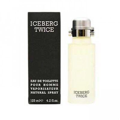 ICEBERG TWICE FOR MEN 125ML EAU DE TOILETTE SPRAY BRAND NEW & SEALED