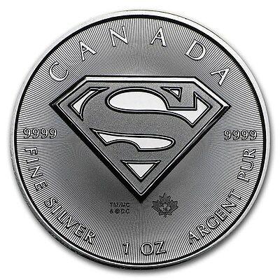 1 oz 999 Feinsilber Silbermünze Silver Superman 5$ Kanada Canada  Silvercoin online kaufen