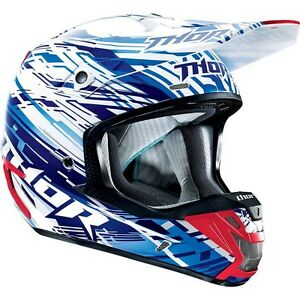 Thor Verge Motocross Helmet with Spy Goggles size XL