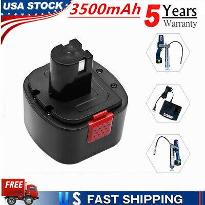 12 Volt Battery 3.5Ah For Lincoln PowerLuber Grease Gun LIN-1201 1200 1240 1242 1201 12 Volt Battery