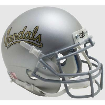 IDAHO VANDALS SILVER VANDALS SCHUTT XP FULL SIZE REPLICA FOOTBALL HELMET ()