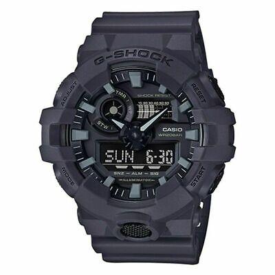 Brand New Casio G-Shock GA-700UC-8A Dark Gray Ana Digi World Time Men's Watch