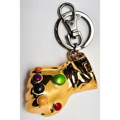 Avengers Infinity Metall Handschuh Stulpe Schlüsselanhänger MARVEL AGE OF ULTRON