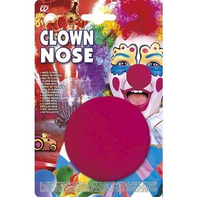 ERWACHSENE ROT Karneval Fasching Kostüm Zubehör Maske # 2285 (Clown Kostüm Zubehör Erwachsene)