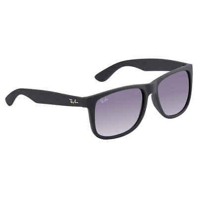 Ray Ban Justin Classic (F) Grey Gradient Rectangular Men's Sunglasses RB4165F