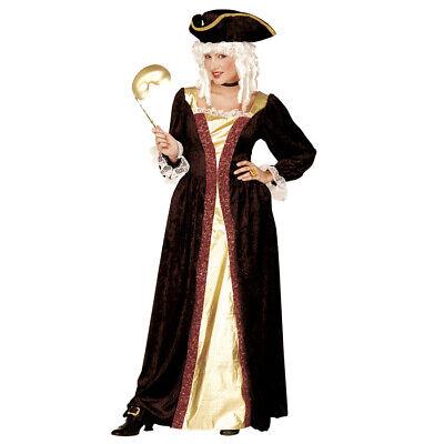 ME KOSTÜM Karneval Venedig Barock Rokoko Mittelalter Kleid (Venezianische Kostüm)