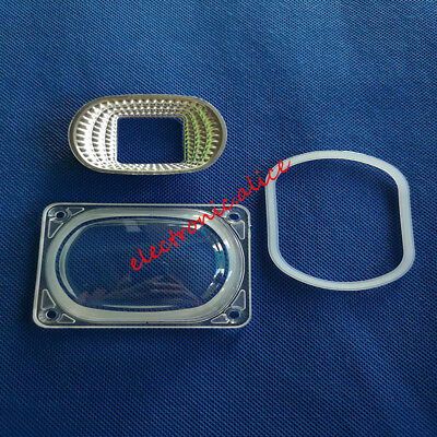 10set Led Cob Chip Lens Reflector 230v 110v-220v 20w 30w 50w F Led Flood Light