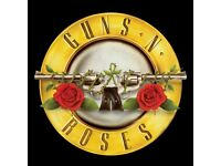 Guns and Roses golden circle tickets London Friday 16th June 2017
