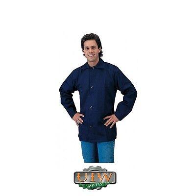 Welding Jacket X-large - Tillman Blue 9oz Fr Cotton 6230b