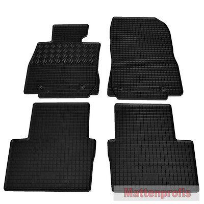 Gummi- Fußmatten RAND ROT $$$ Gummimatten für Mazda CX3 CX-3 CX 3 NEU $$$