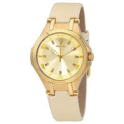 Invicta Gabrielle Union Gold Dial Ladies Watch 23253