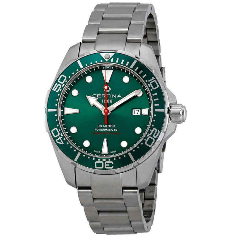 Certina-DS-Action-Diver-Automatic-Green-Dial-Men-Watch-C032.407.11.091.00