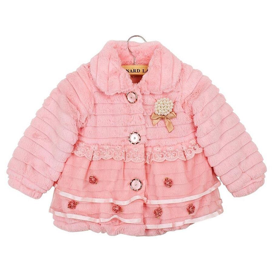 Junoesque Baby Faux Fur Fleece Lined Coat