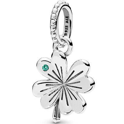 PANDORA Charm Element 397965 NAG Anhänger Glück Klee Clover Silber  (Pandora Glück)