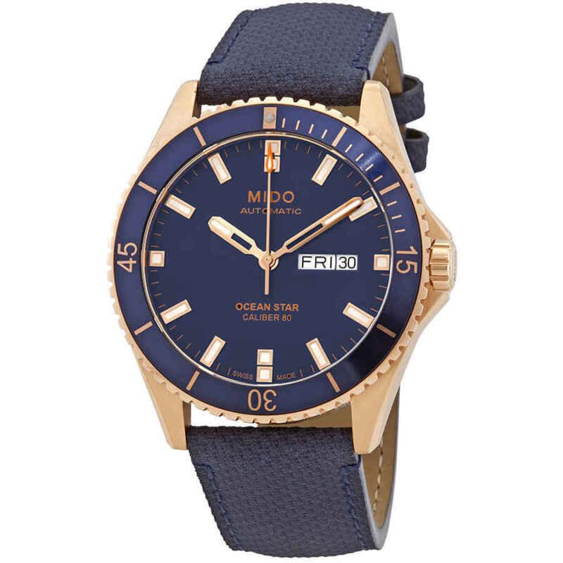 Mido Ocean Star Automatic Blue Dial Men Watch M026.430.36.041.00