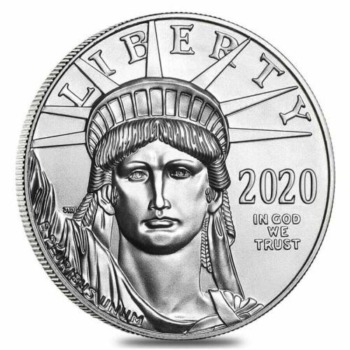 2020 Platinum $100 American Eagle 1 oz US Mint American Platinum Eagle Coin