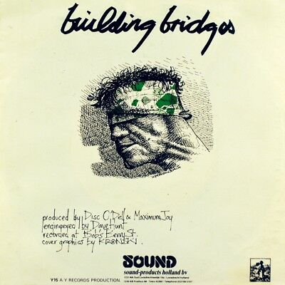 "7"" MAXIMUM JOY White And Green Place / Building Bridges 1982 Industrial Punk Dub"