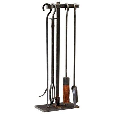 Cyan Design Lincoln Hearth Tools, Raw Steel - 04901