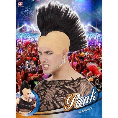 PUNKER PERÜCKE Karneval Fasching Punkerin Rocker Punk Irokese Kostüm Party - Punk Rocker Kostüm Perücke