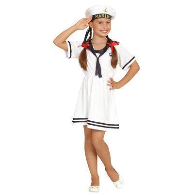 MATROSE KOSTÜM MÄDCHEN # Karneval Fasching Seemann Kleid Kinder Sailor Girl - Seemann Mädchen Kostüm
