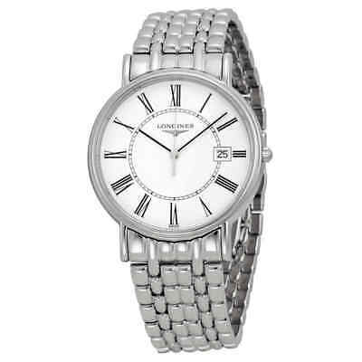 Longines La Grande Classique Presence White Dial Steel Men's Watch L4.790.4.11.6