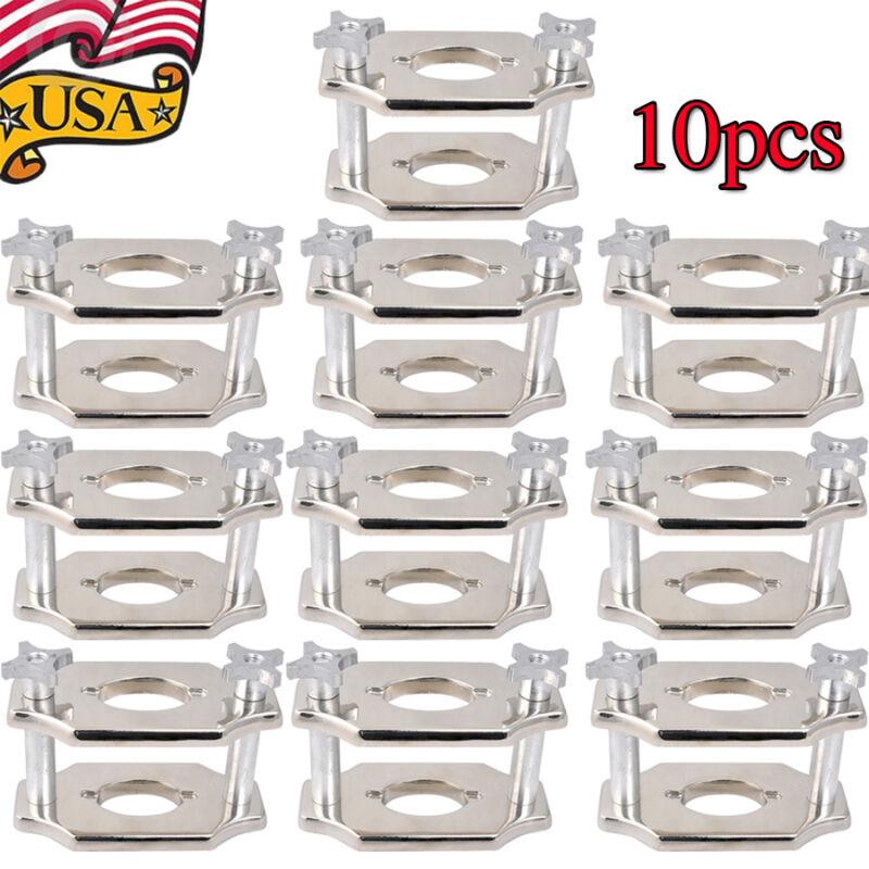 10pcs Dental Equipment Reline Jig Single Compress Press Presser Easy Operation