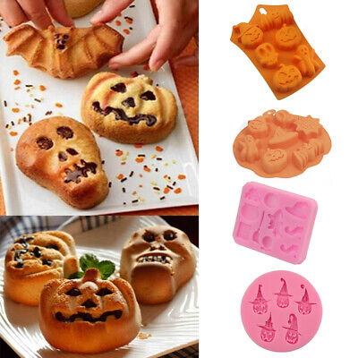 Halloween Pumpkin Cake Mould Fondant Mold DIY Chocolate Cookie Candy Bake Tool