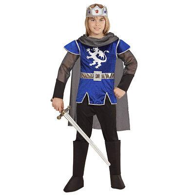 KÖNIG KOSTÜM KRONE KINDER Karneval Fasching Prinz Ritter Jungen Mittelalter 0550
