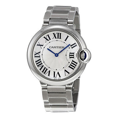 Cartier Ballon Bleu de Cartier Stainless Steel Unisex Watch W69011Z4