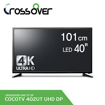 "Crossover 402UT 40"" DP Real 4K UHD 60Hz 3840x2160 HDMI LED TV Monitor RGB Panel"