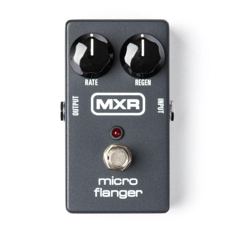 MXR M152 Micro Flanger Analog Flanger Pedal, New!