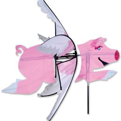 - Flying Pig Wind Staked Spinner with Ground Mount ..25....PR 25901