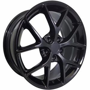 BENZ AUDI WINTER ALLOY 18x8 5x112 66.6 BLACK OR SILVER SALE or package