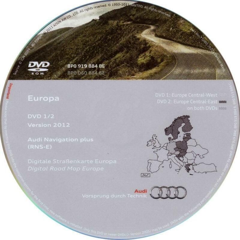 Audi A3 Dvd Sat Nav Ebay