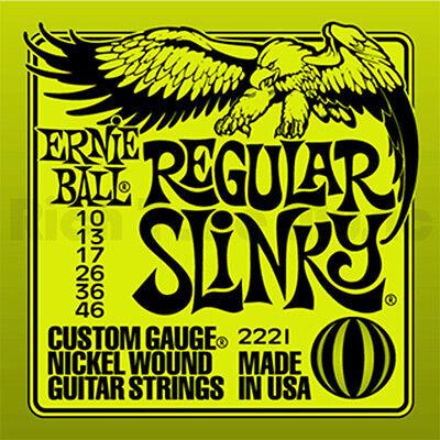 6 X Bola de Ernie Regular Slinky Cuerdas Guitarra Eléctrica 10 6...