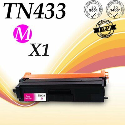 1PACK Magenta TN433 Toner TN431 for Brother HLL8260CDW HLL8360CDW  HLL8360CDWT 1 Pack Magenta Toner