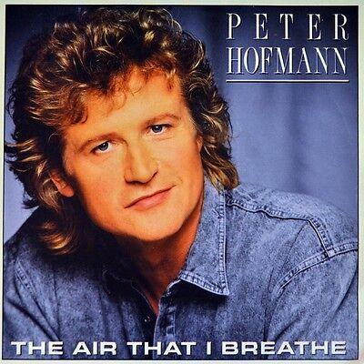 "7"" PETER HOFMANN The Air That I Breathe HOLLIES Young Girl GARY PUCKETT CBS 1987"