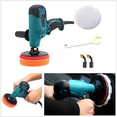 220V 600W 6 Speed Car Polisher Car Paint Care Waxing Machine Adjustable-Speed