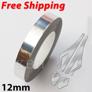12mm x 9.8m Pinstripe Single Pin Stripe Tape Decal Sticker 1/2