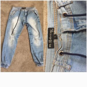 Distressed Jeans/ Jogger Pants