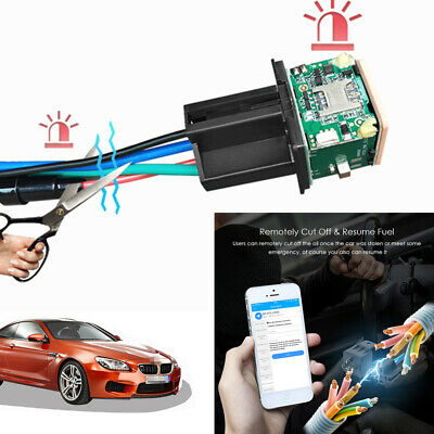 Hidden Car Tracking Relay GPS Tracker Phone APP Alarm Anti-theft Kill Fuel Pump comprar usado  Enviando para Brazil