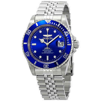 Invicta Pro Diver Automatic Blue Dial Stainless Steel Men's Watch 29179