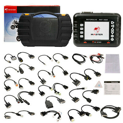 Master MST-3000 Motorcycle Scanner Fault Code Scanner for Heavy duty motorcycles ()