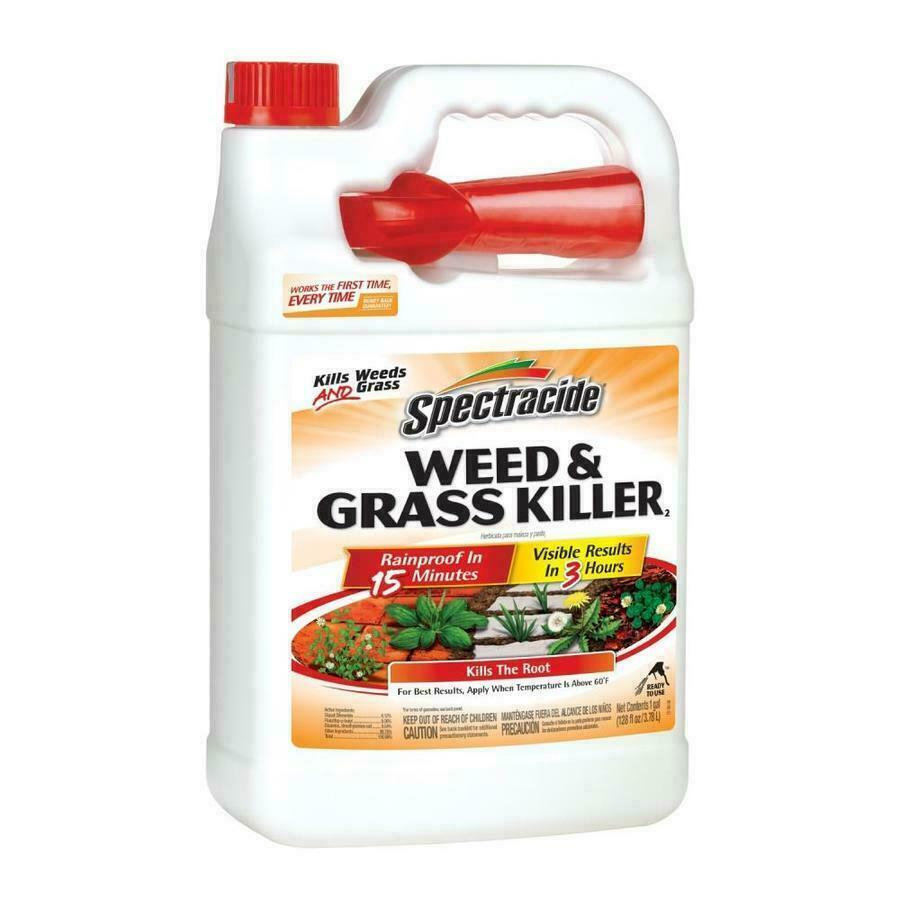 Spectracide Weed & Grass Killer Spray 1 Gallon Ready-to-Use