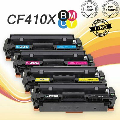 4x color toner cf410x 3x for hp