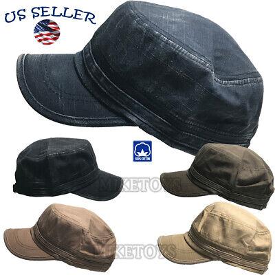 Army Cadet Military Patrol Castro Cap Hat Men Women Golf Driving Summer Baseball - Military Hat