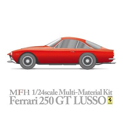 MFH 1/24 FERRARI 250GT LUSSO FULL HI DETAIL UNBUILT MULTIMEDIA KIT